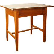 American New England Pine Tavern Side Table