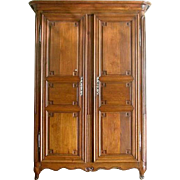 French Directoire Oak Armoire