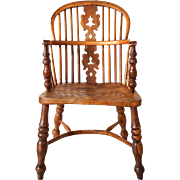 English Oak Windsor Armchair