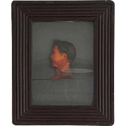 French Wax Profile Bas-Relief Portrait of Napoleon Bonaparte