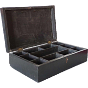 Anglo Indian George III Ebony Desk Box