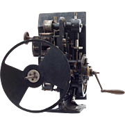 German Ernemann-Krupp Film Projector