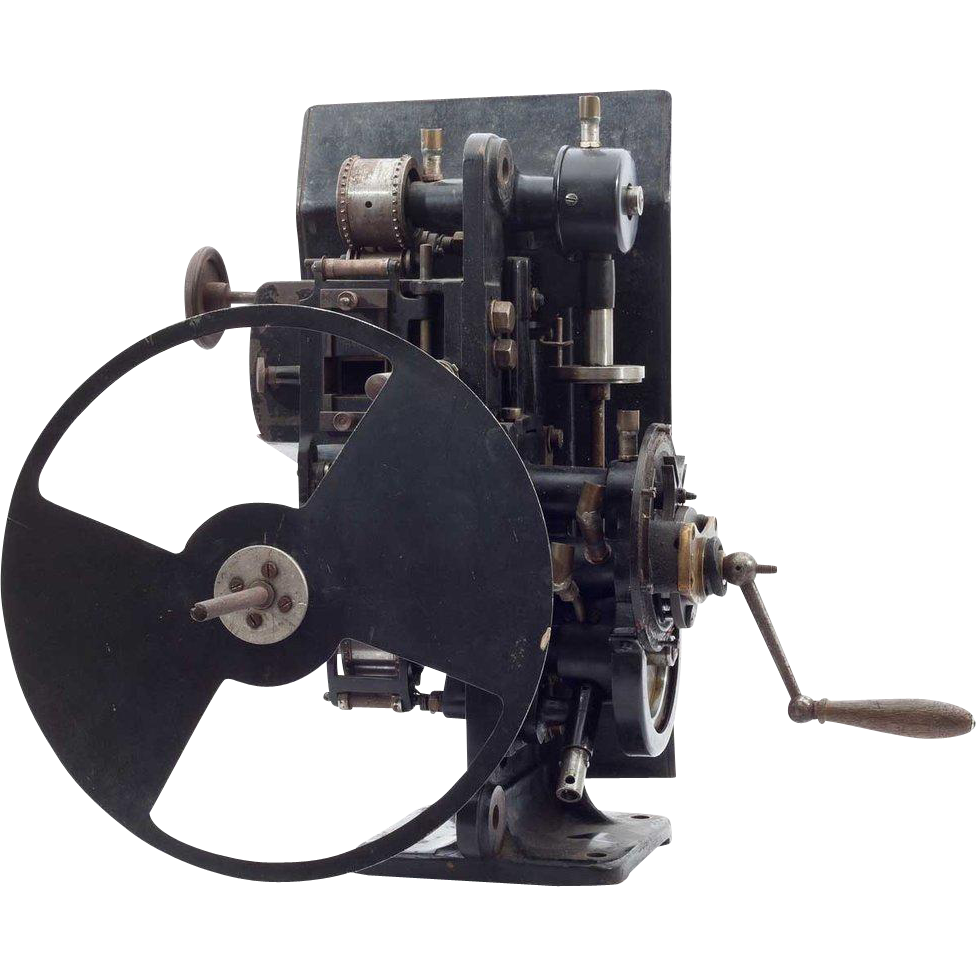 German Ernemann-Krupp Film Projector