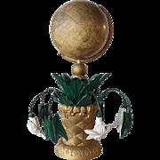 American Victorian Moore & Nims Franklin Terrestrial Desk Top Globe