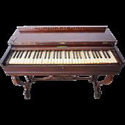 American Victorian George A. Prince & Co. Rosewood Veneer Melodeon Organ