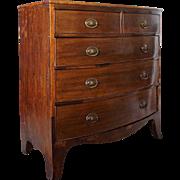 Hepplewhite Mahogany Chest of Drawers