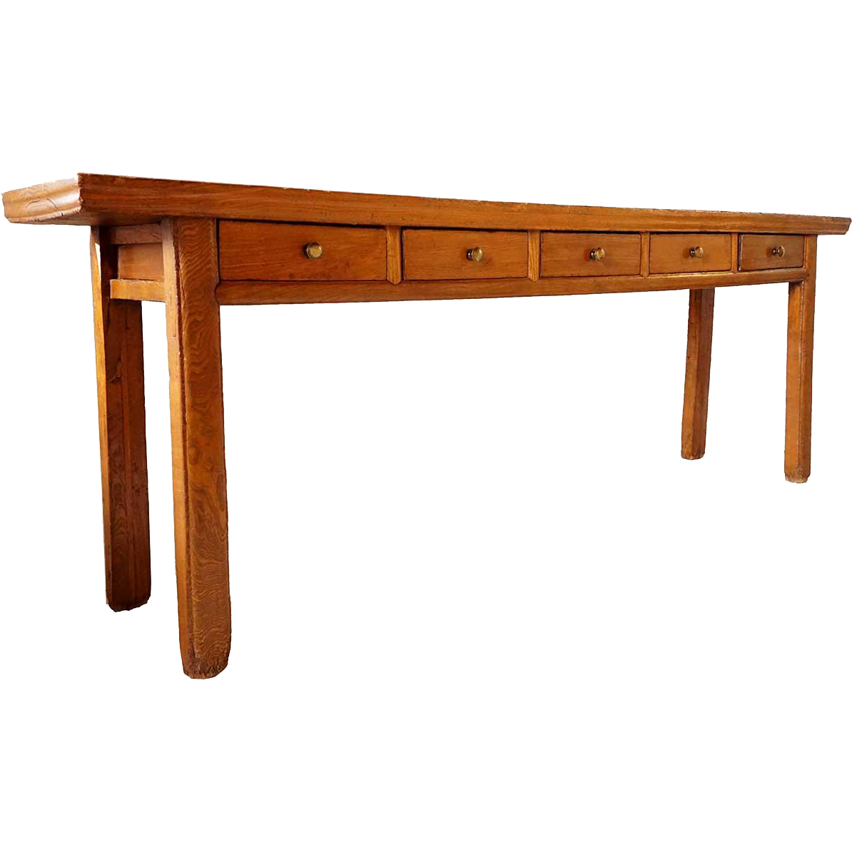 Chinese Elm Console Table