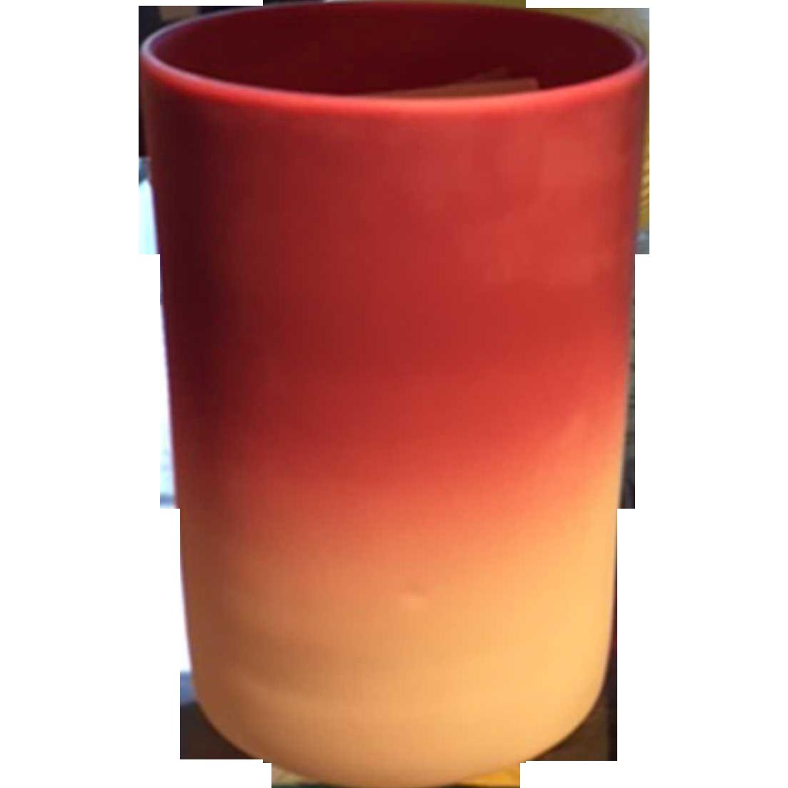 American Victorian Burmese Glass Tumbler