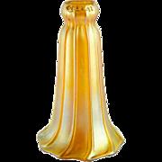 American Quezal Art Nouveau Art Glass Lily Lamp Shade