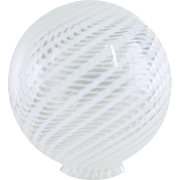 American Fry Swirl Glass Globe Lamp Shade