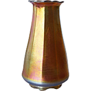 American Tiffany Studios Favrile Glass Cold Cone Chimney Candle Shade