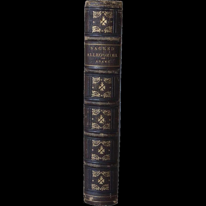 British Book: Sacred Allegories by Reverend William Adams