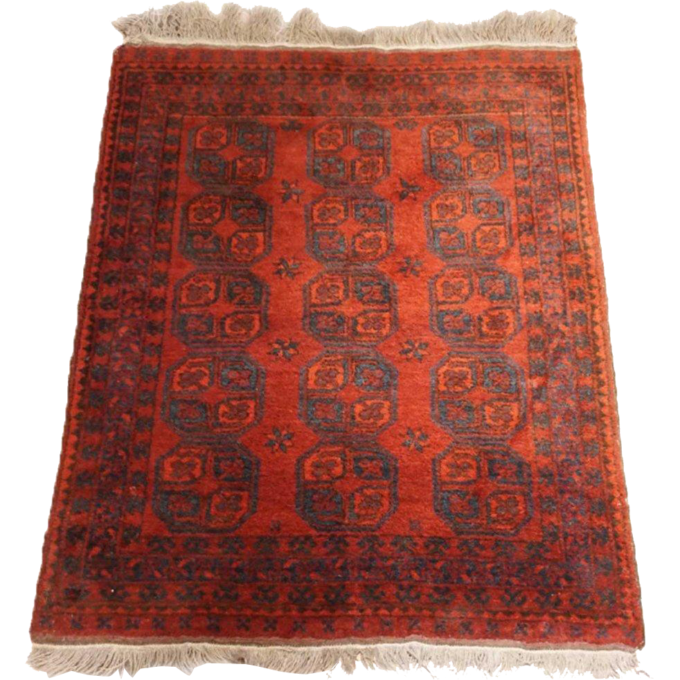 Small Bashir Red Rug