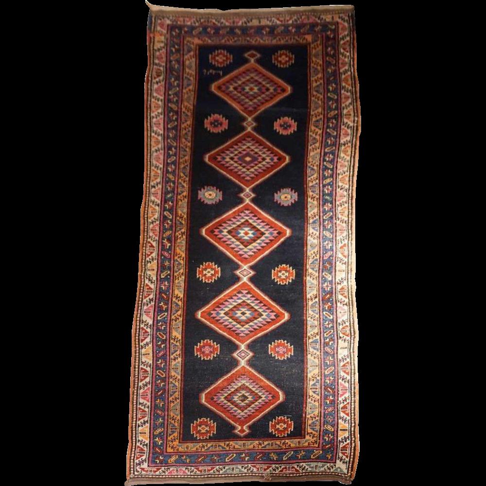 Persian Karabagh/Karabakh Runner Carpet