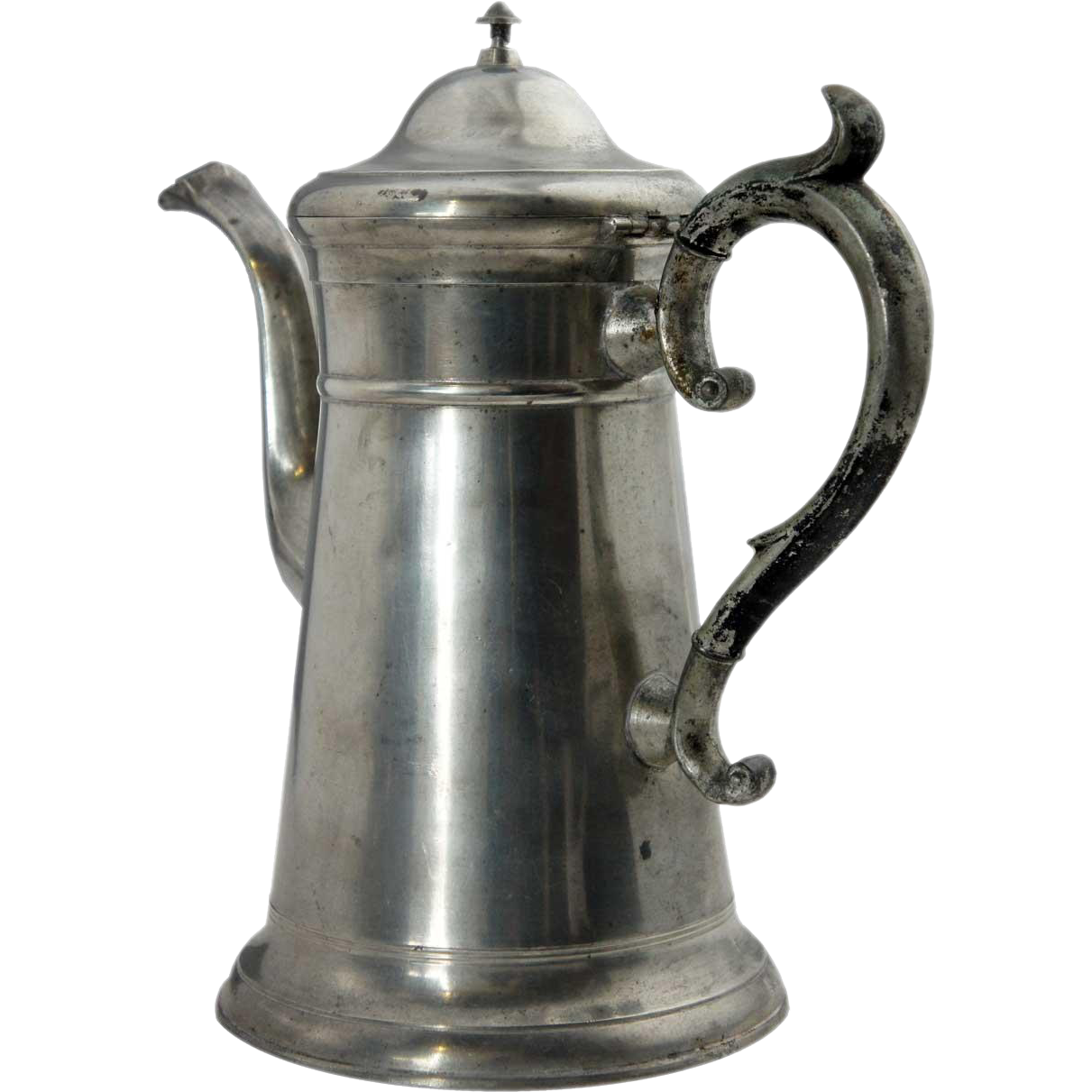 American Freeman Porter Pewter Lighthouse Coffee Pot
