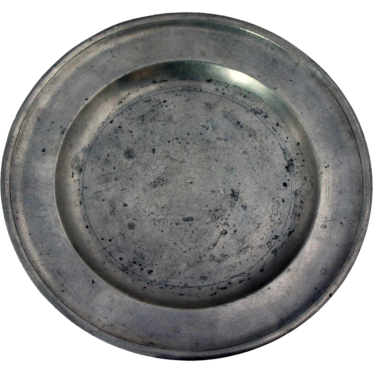 American Thomas Danforth III Pewter Plate
