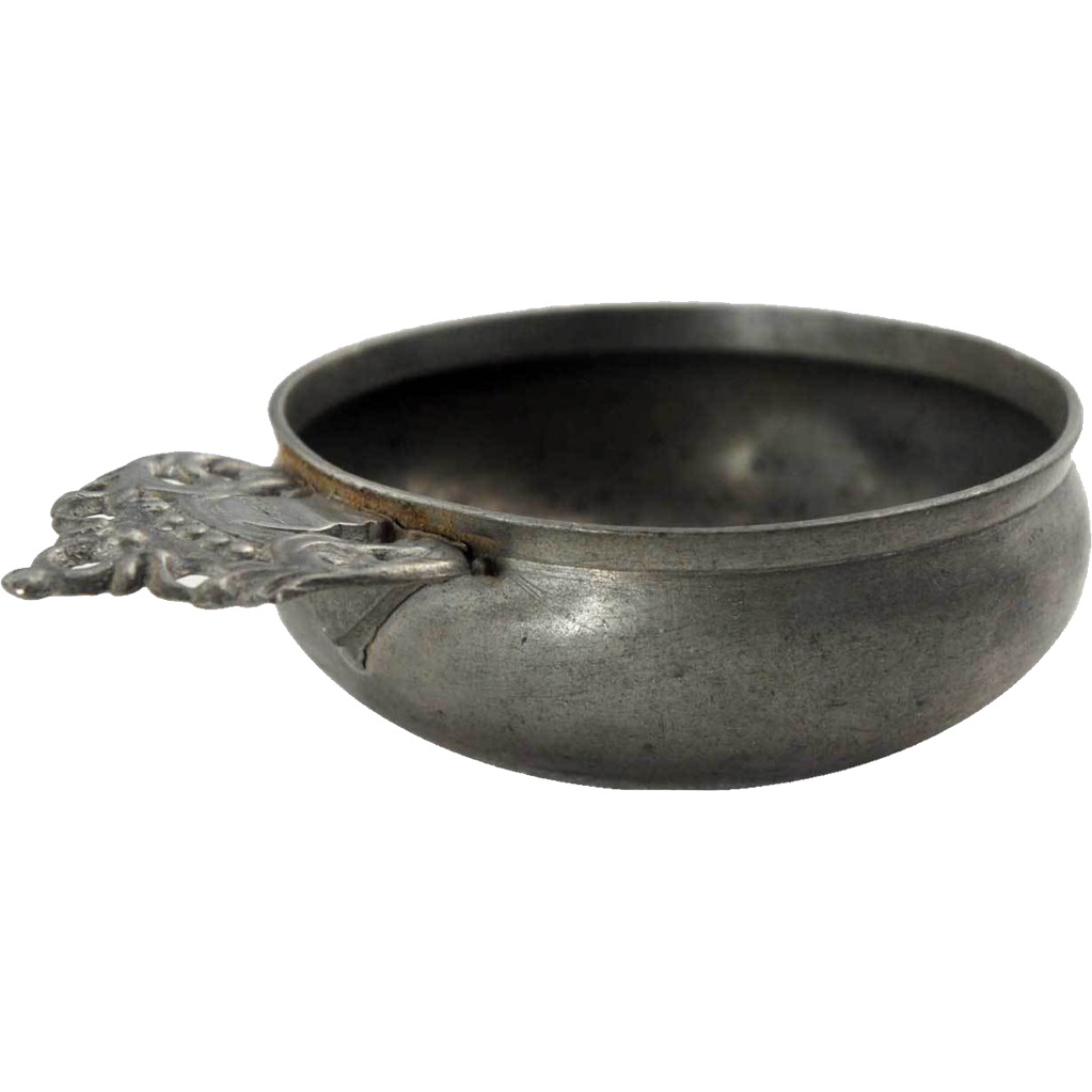 American Danforth & Boardman Pewter Porringer
