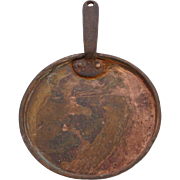 Handmade Copper Iron Handle Cooking Pot Lid