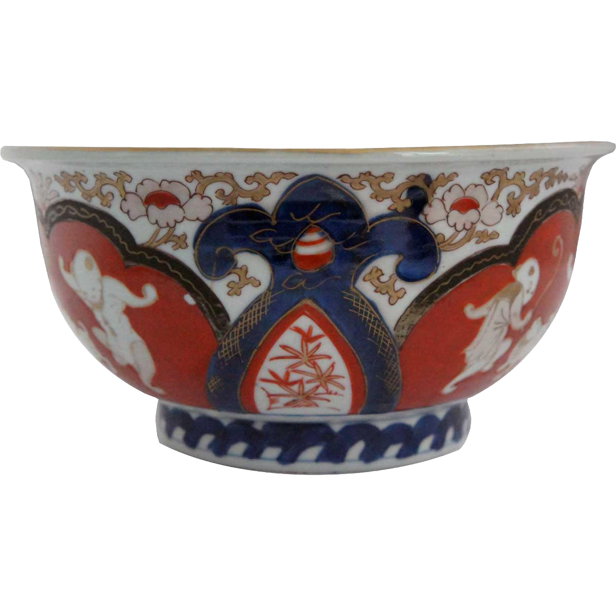 Japanese Imari Porcelain Footed Bowl