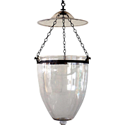 Anglo Indian Regency Glass Hall Lantern (Hundi)