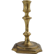 Continental Cast Brass Candlestick