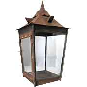 Anglo Indian Toleware Lantern