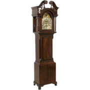 Small Scale English Robert Rouch Longcase Clock