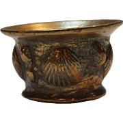 Early Spanish Baroque Bronze Mortar