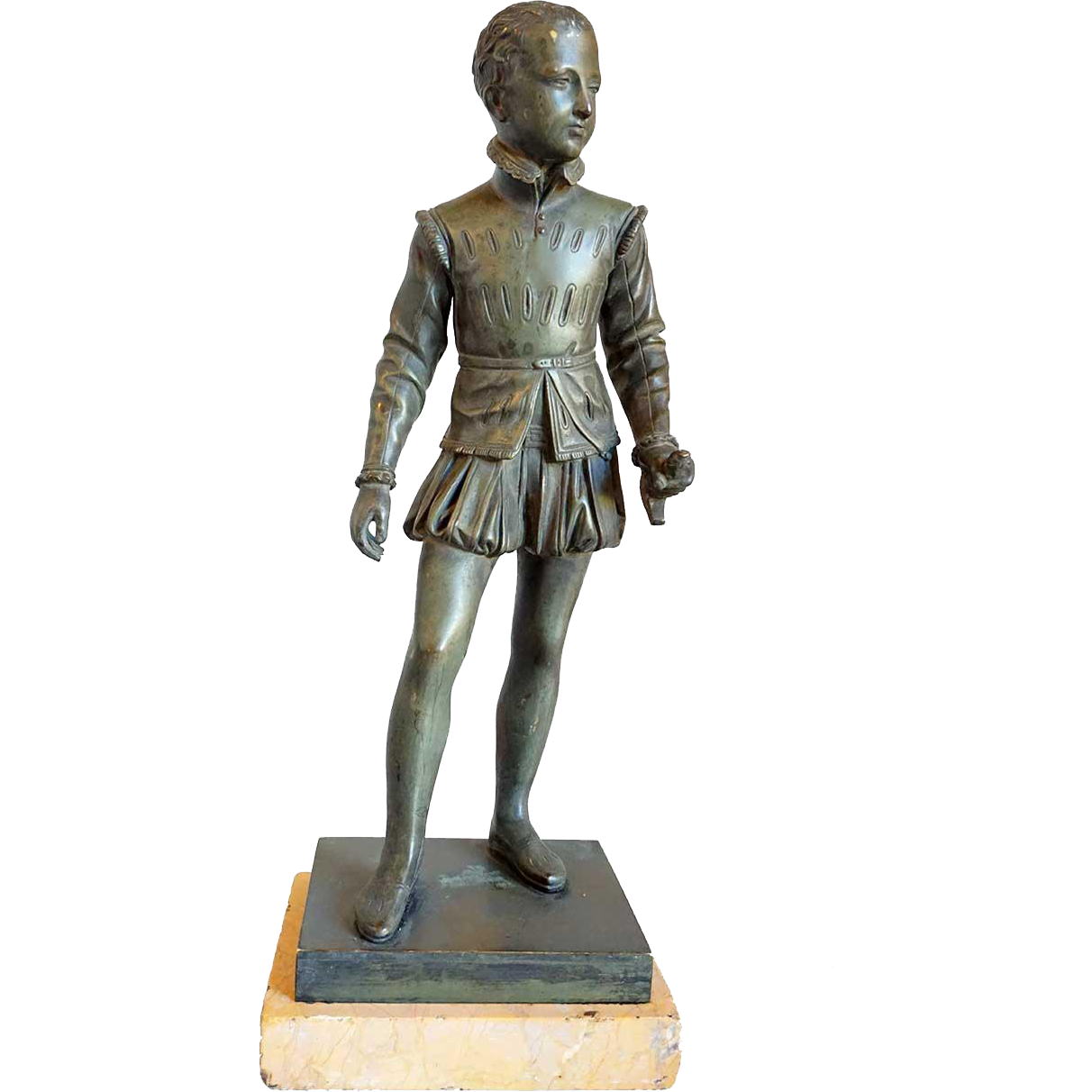 BARON BOSIO Bronze Sculpture, Henry IV as a Child