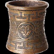Tibetan Bronze Vase