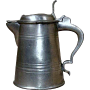 Scandinavian Pewter Flagon