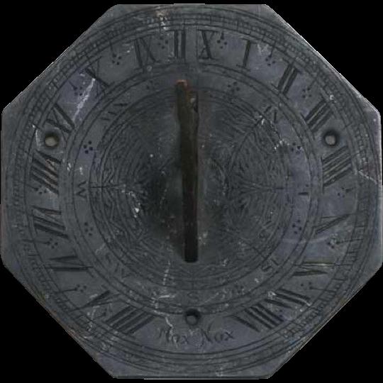 English Georgian Bronze Octagonal Sundial 18th/19th century