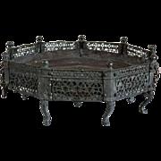 Indo-Persian/Deccani Bronze Open Brazier