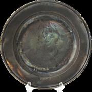 Single-Reeded Rim Pewter Bowl