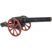 American Conestoga Co. Cast Iron Big-Bang Toy Model Cannon