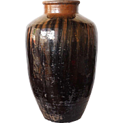 Chinese Chizhou Yao Pottery Wine Jar