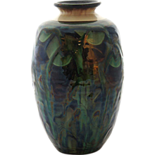 Danish Herman A. Kahler Art Pottery Vase