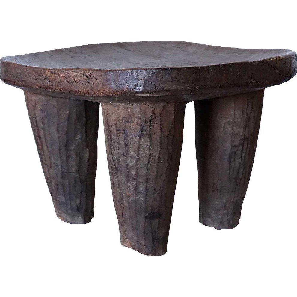 Vintage African Senufo Wood Stool