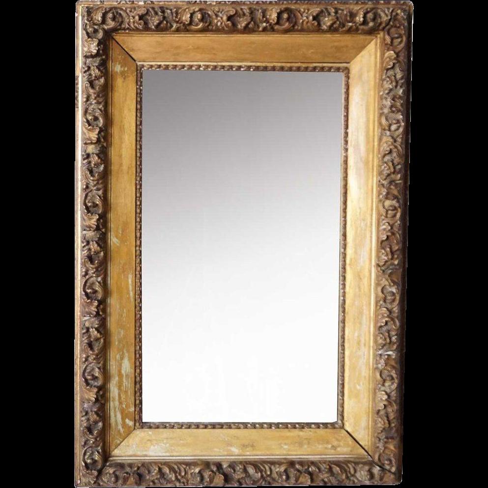 American Giltwood Framed Mirror