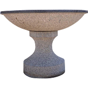 Granite Garden Pedestal Fountain