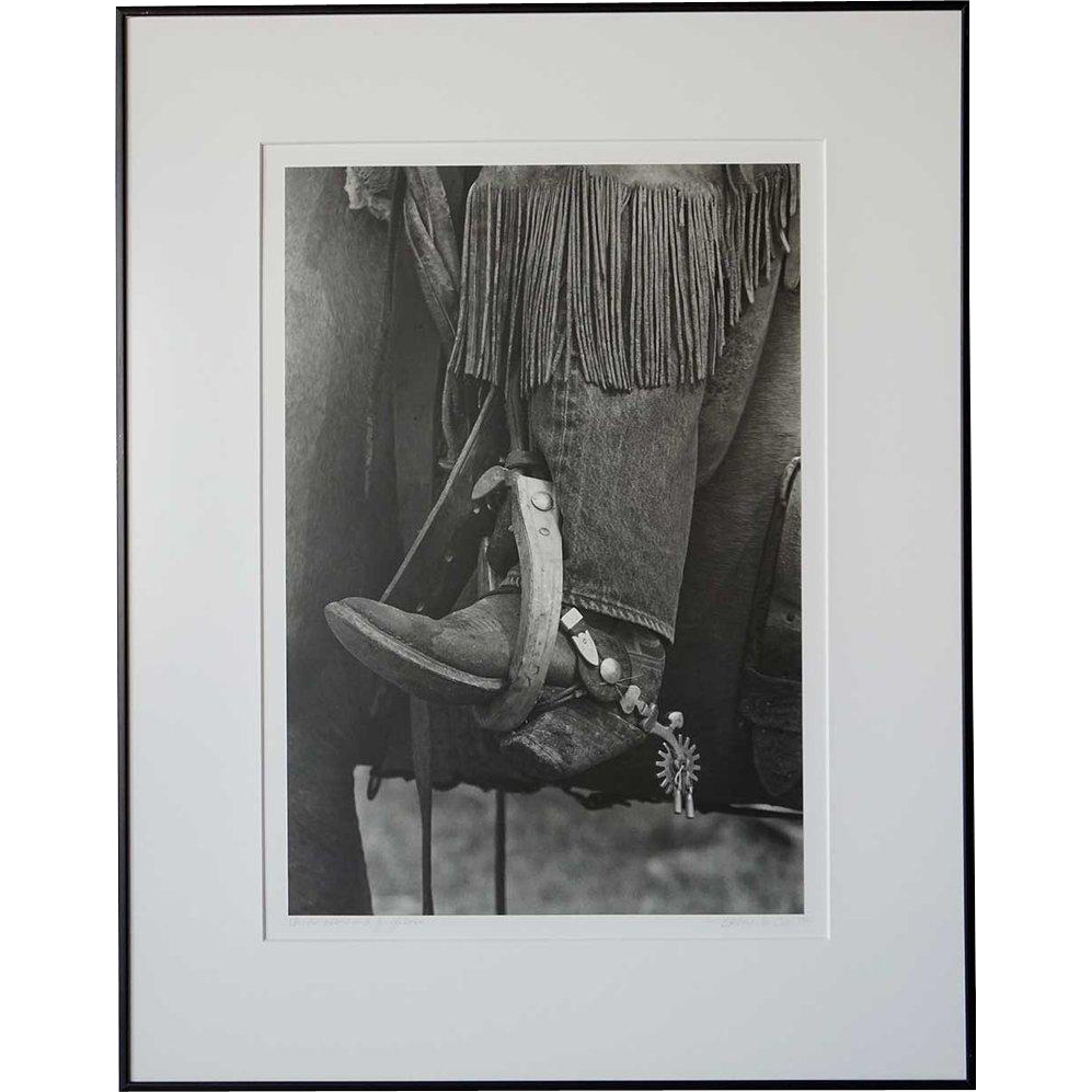 BARBARA VAN CLEVE Black and White Photograph, Chinks, Oxbow and Ginglebobs