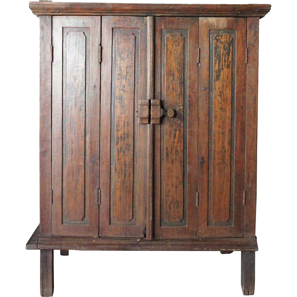 Dutch Colonial Batavian Teak Cupboard