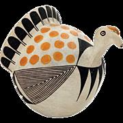 Native American SARAH GARCIA Acoma Pueblo Polychrome Turkey
