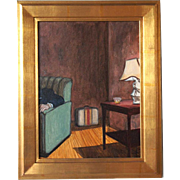 SHARON BOND BROWN Painting, Interior Scene