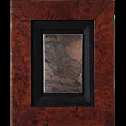 LYMAN BYXBE Etching Plate, Black Canyon, State 2