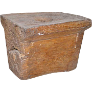 Large Teak Mortar