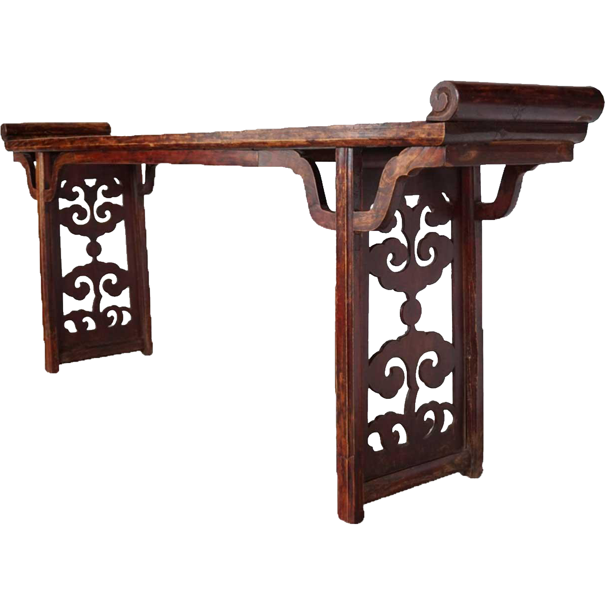 Chinese Gansu Fruitwood Altar Table