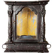 Indo-Portuguese Ebonized Rosewood Shrine