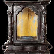 Indo-Portuguese Ebonized Rosewood Shrine