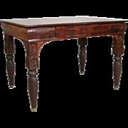 Russian Neoclassical Figured Mahogany Writing Desk
